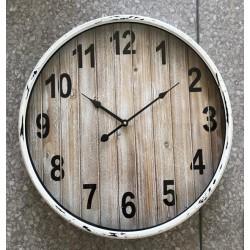 IRON CLOCK 51x8 cm