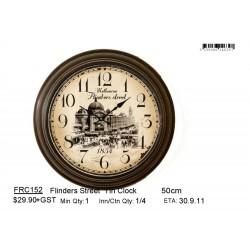 Flinders Street  Tin Clock
