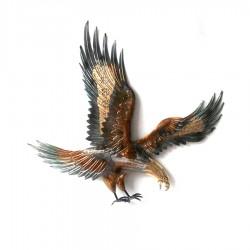 METAL EAGLE WALL DECORATION