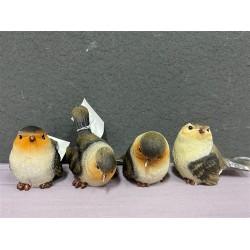 ***Brown & Cream birds (S)