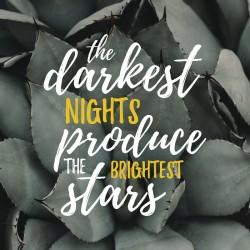 CANVAS PRINT - DARKEST NIGHT