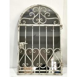 MIRROR DOOR WITH METAL FRAME