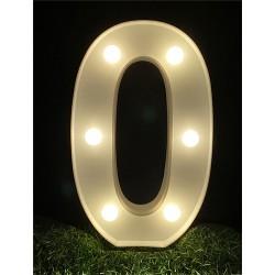 """LED LIGHT UP NUMBER""""0"""""""