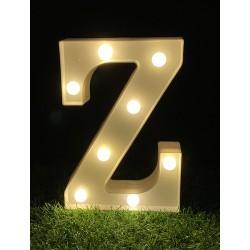 "LED LIGHT UP LETTER""Z"""