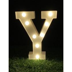 """LED LIGHT UP LETTER""""Y"""""""