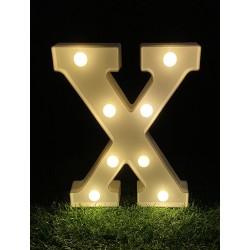 """LED LIGHT UP LETTER""""X"""""""