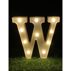 "LED LIGHT UP LETTER""W"""