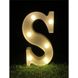 """LED LIGHT UP LETTER""""S"""""""