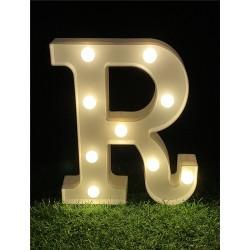 "*LIGHT UP LETTER""R"""