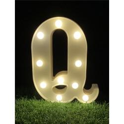 """*LIGHT UP LETTER""""Q"""""""