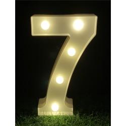 """LED LIGHT UP NUMBER""""7"""""""