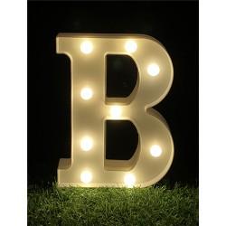 """LED LIGHT UP LETTER""""B"""""""
