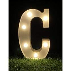 "LED LIGHT UP LETTER""C"""