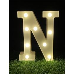 """LED LIGHT UP LETTER""""N"""""""