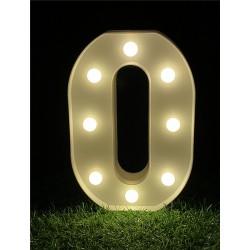 """LED LIGHT UP LETTER""""O"""""""