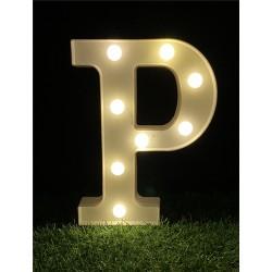 """*LIGHT UP LETTER""""P"""""""