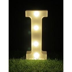 """*LIGHT UP LETTER""""I"""""""