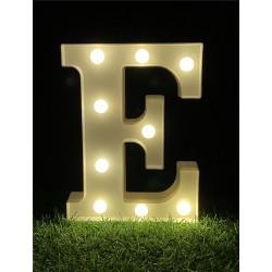 """LED LIGHT UP LETTER""""E"""""""