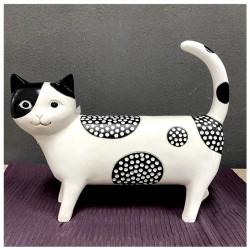 Polyresin farm cat
