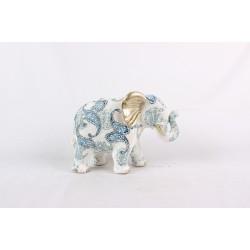 BLUE & WHITE ELEPHANT