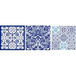 3 PLYS NAPKIN 3/A - BLUE