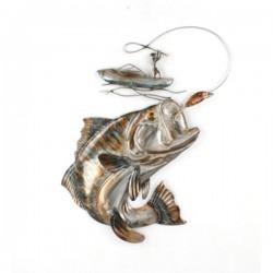 METAL FISHING WALL DéCOR