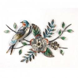 METAL BIRDS ON BRANCH WALL DéCOR