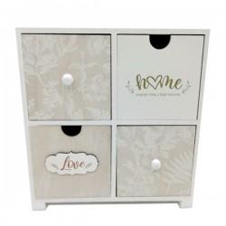 MDF 4 drawer cabinet