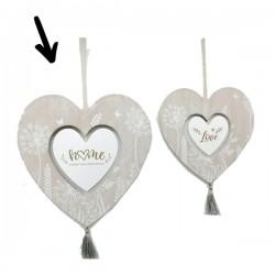 MDF heart hanger