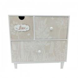 MDF 3 drawer cabinet
