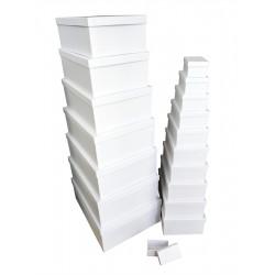 ***WHITE MATT GIFT BOX S/18