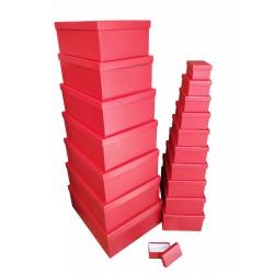 ***RED MATT GIFT BOX S/18