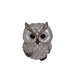 "7"" Owl decoration (body sideways)"