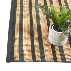 Halcyon Lake carpet rugs-pebbly beach 170x240-- STRIP BLACK AND YELLOW