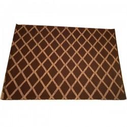 Halcyon Lake carpet rug  170x240  -- BROWN CROSS