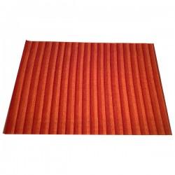 Halcyon Lake carpet rugs-pebbly beach 170x240-- STRIP RED